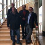 CDU Menden besucht Landtagsabgeordneten Marco Voge in Düsseldorf