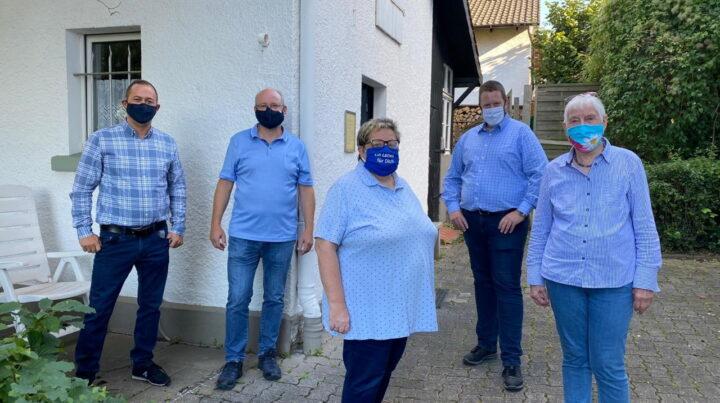 CDU Lendringsen informiert sich nach Corona-Lockerungen bei De-Cent in Lendringsen