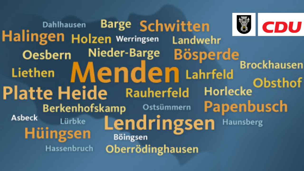 1,9 Millionen Euro für Bildung, Jugend und Städtebau in Menden