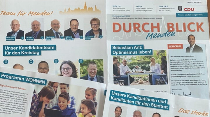 "1. Wahlkampf-Zeitung ""DURCHBLICK"" erschienen"