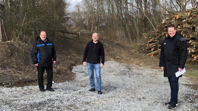 CDU Lendringsen war wegen Hochwasserschutz an Hönne und Bieber vor Ort