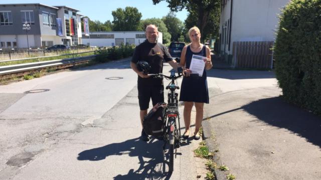 Horlecke ausbessern: Sturzgefahr für Radfahrer beseitigen