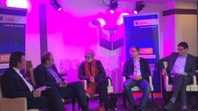 """Spannende Talkrunde der CDU im """"wo anders"""""""