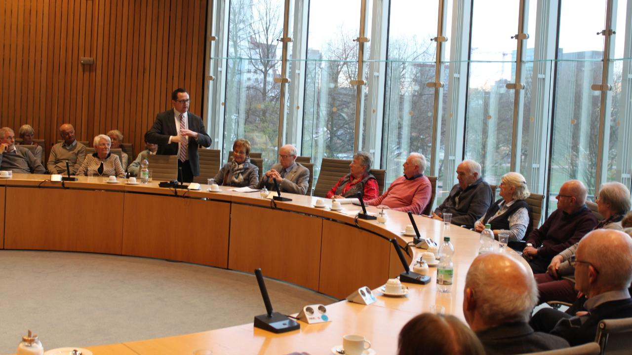 Senioren Union zu Gast im Landtag