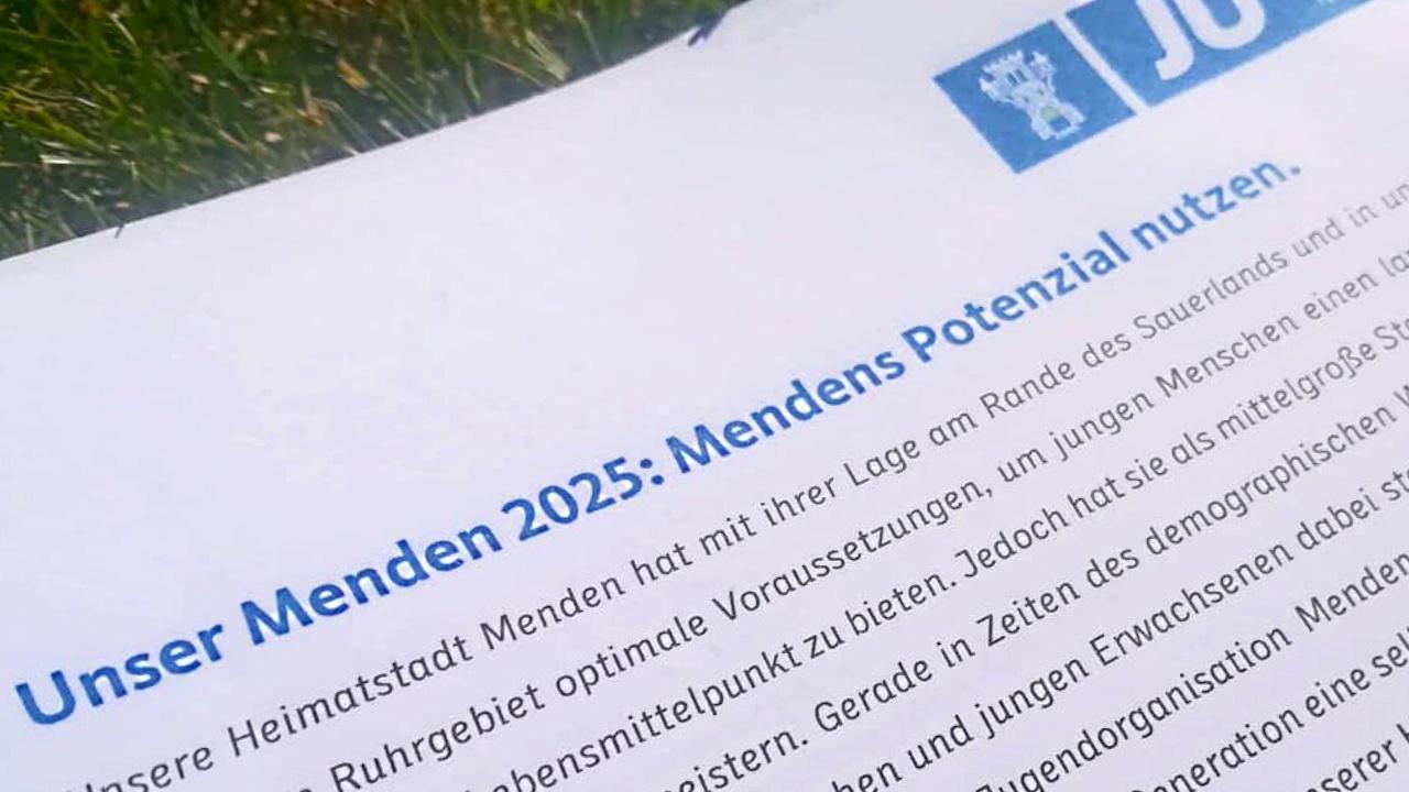 """""""Unser Menden 2025"""" – Junge Union erarbeitet Programm auf Klausurtagung"""